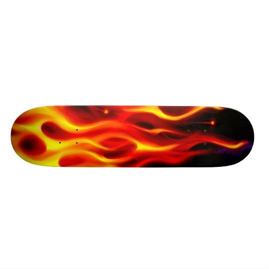 FIRE Skate Deck