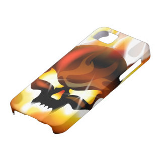 fire skull iPhone 5 covers