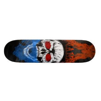 Fire Skull Skateboard