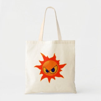 Fire Smiley Face Bag