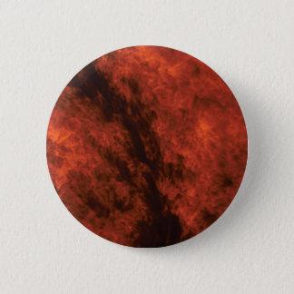 fire smoke art 2 inch round button