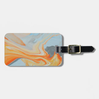 Fire Spear Luggage Tag