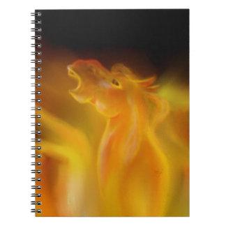 Fire Stallion Notebook