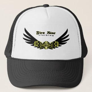 Fire Star Cap-wings Trucker Hat