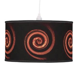 Fire Swirl Ceiling Lamps