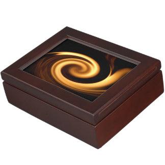 Fire Swirl Keepsake Boxes