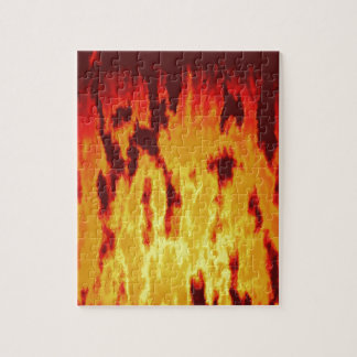 Fire texture jigsaw puzzle