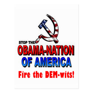 Fire the Dem-wits Postcard