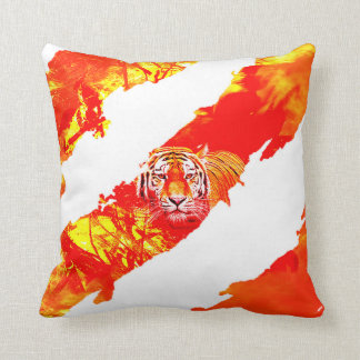 Fire Tiger Pillow