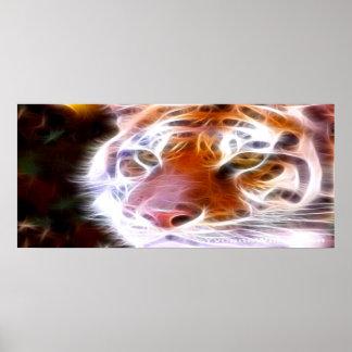 Fire Tiger Print