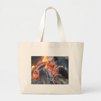 Fire Tot Large Tote Bag