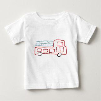 Fire Truck Baby T-Shirt