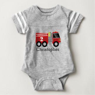 Fire Truck Birthday Shirt