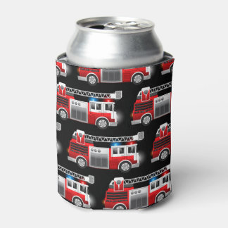 Fire truck can cooler