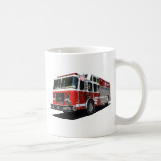 Fire truck Custom Mug