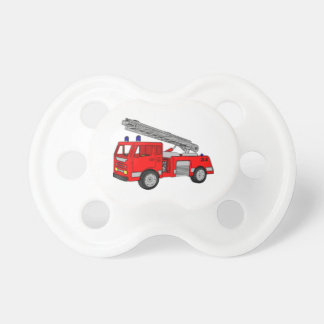 Fire Truck Infant Pacifier