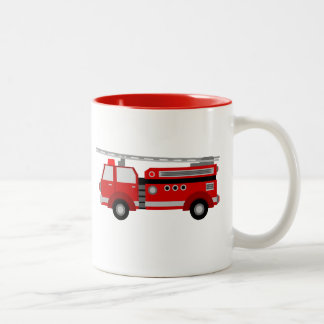 Fire Truck Mug
