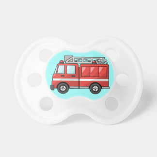 Fire Truck Pacifiers