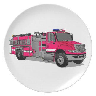 Fire Truck Plates