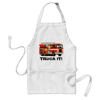 Fire Truck Standard Apron