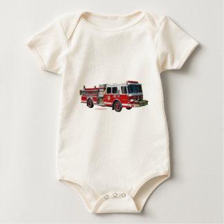 Fire_Truck_texturizer Baby Bodysuit