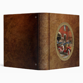 Fire Truck - The flying squadron 1911 3 Ring Binders