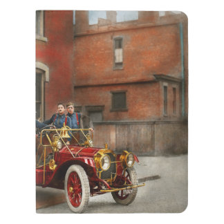 Fire Truck - The flying squadron 1911 Extra Large Moleskine Notebook