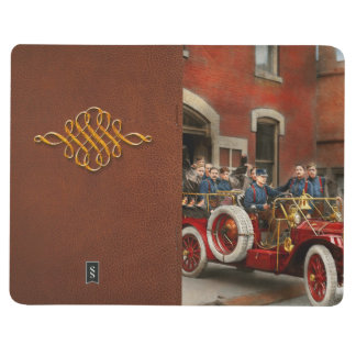Fire Truck - The flying squadron 1911 Journal
