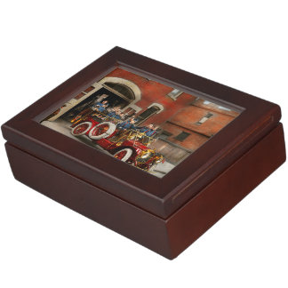 Fire Truck - The flying squadron 1911 Keepsake Box