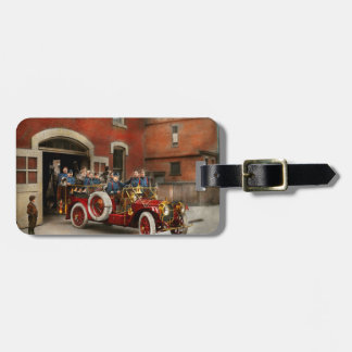 Fire Truck - The flying squadron 1911 Luggage Tag