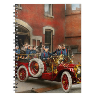 Fire Truck - The flying squadron 1911 Notebooks