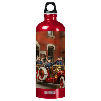 Fire Truck - The flying squadron 1911 Water Bottle