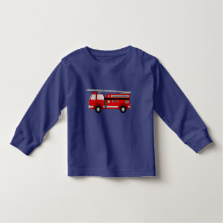 Fire Truck Toddler T-shirt