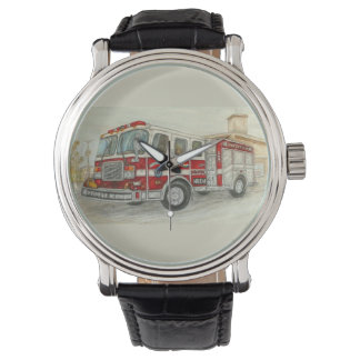 """Fire Truck"" Wristwatch"