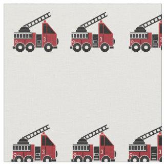 Fire trucks fabric