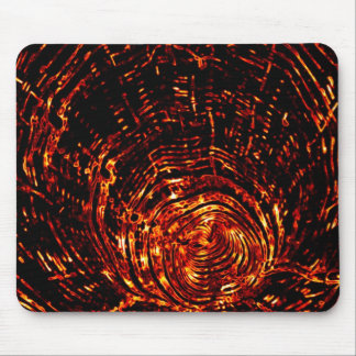 Fire Tunnel mousepad