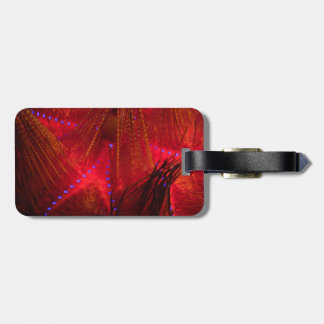 Fire Urchin Luggage Tag