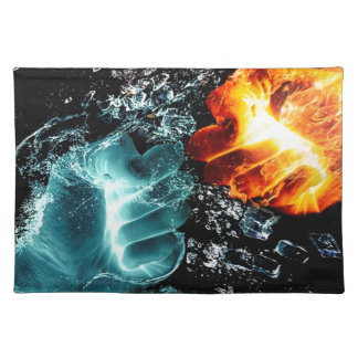 Fire Vs Water Placemat
