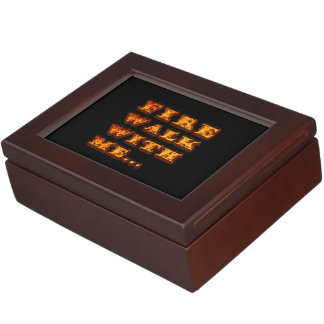 Fire Walk With Me Memory Boxes