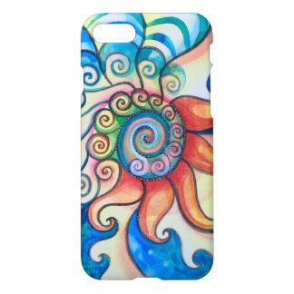 Fire & Water Cell phone case i phone 7