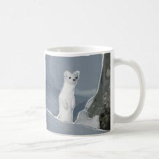 Fire Weasel Snow Weasel Coffee Mug