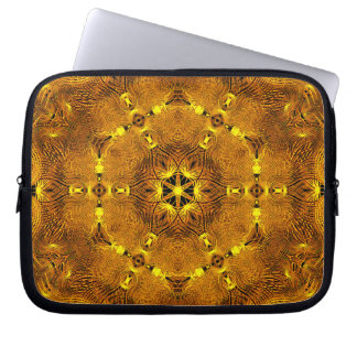 Fire Wings Mandala Laptop Sleeves