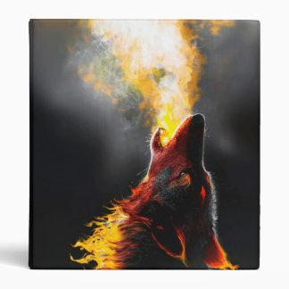 Fire wolf vinyl binder