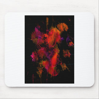 """""""Fire Works""""  by Carter L. Shepard Mouse Pad"""