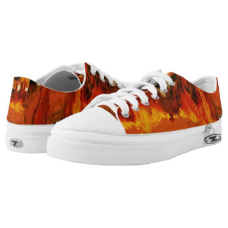 Fire World Low-Top Sneakers