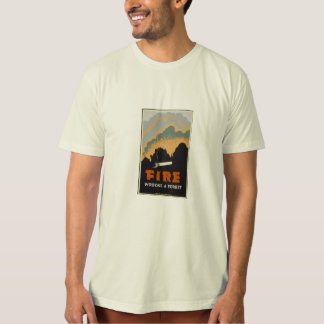 fire wrecks a forest T-Shirt