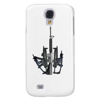 Firearm Middle Finger Galaxy S4 Cases