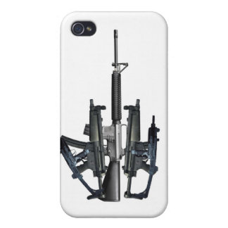 Firearm Middle Finger iPhone 4/4S Covers