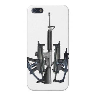 Firearm Middle Finger iPhone 5 Cases