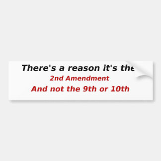 Firearm Rights Humor Political Bumper Sticker